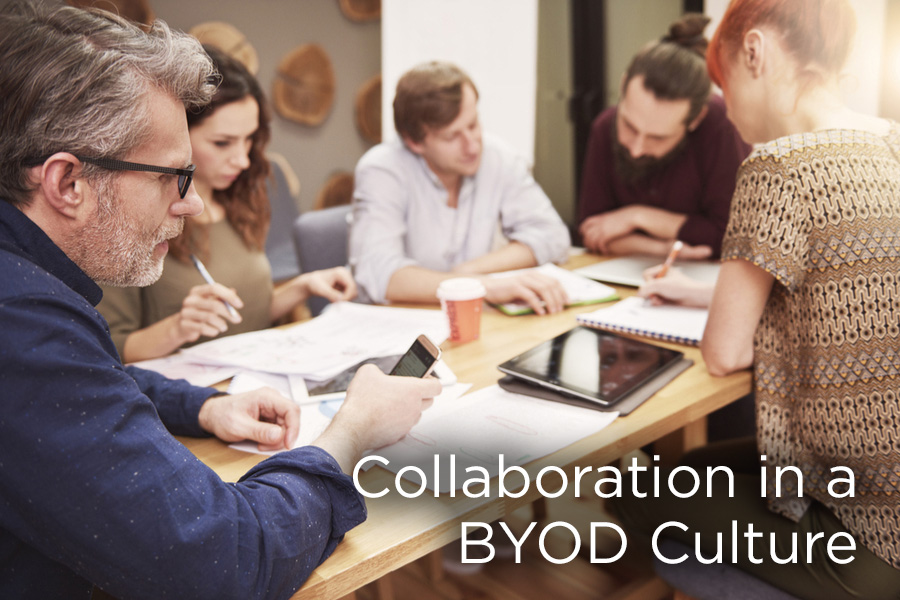 Collaborative Classroom Culture : Collaboration in a byod culture avoiding risks and