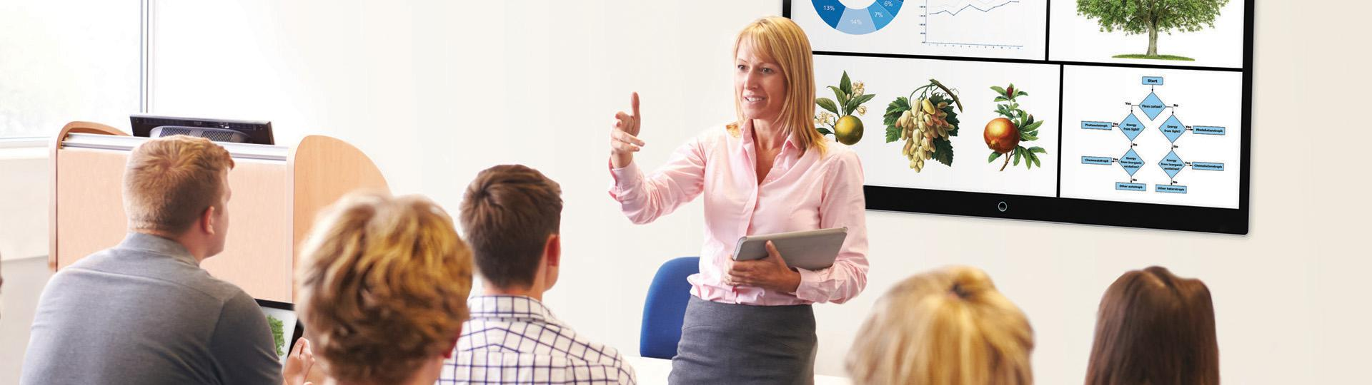Presentation & collaboration solutions for education